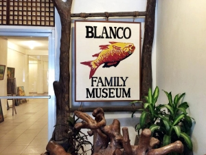 The signage at the Blanco Family Museum Photograph c/o pinkmyrideph.com