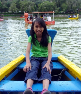 Cool air and calm waters at Burnham Park