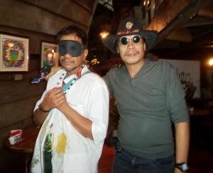 With Rene Aquitaña