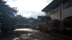 The UP Baguio campus Established in 1961