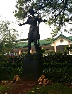 1968 Napoleon Abueva - Inang Laya, UP Baguio Statue of Alma Mater