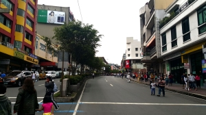 Session Road on Baguio Day