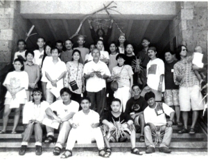 All the participants of the 1995 Indigenous Materials Workshop