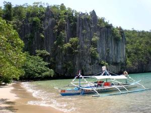 Sabang Beach in Puerto Princesa  Photograph c/o Wikipedia