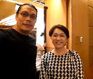 A selfie with former Marikina City Mayor, Marides Fernando