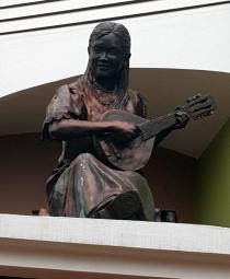 09 2001 Juan Sajid Imao - Banduria Player, Teatro Marikina 2