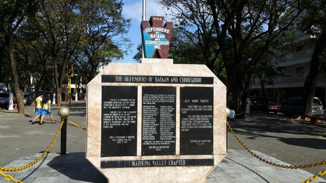 1982 Defenders of Bataan and Corregidor Memorial 1