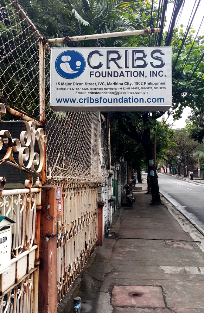 1988 CRIBS Foundation Receiving Home