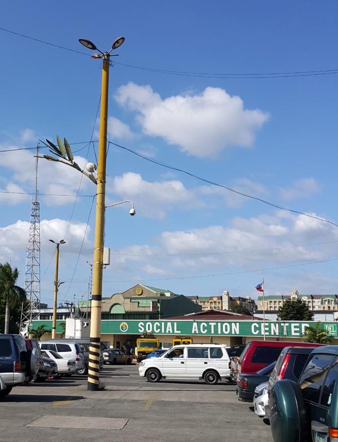 Marikina Bamboo Lightpost