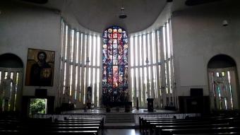 1933 Shrine of Jesus, The Divine Word - Altar