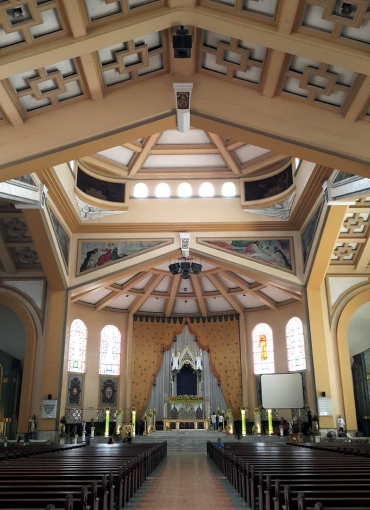 1952-54 National Shrine of Our Lady of the Holy Rosary of La Naval de Manila