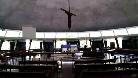 1955 Napoleon Abueva - UP Chapel, Crucifix and Altar