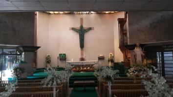 1989 Ramon Orlina - EDSA Shrine, The Risen Christ and Napoleon Abueva - Altar