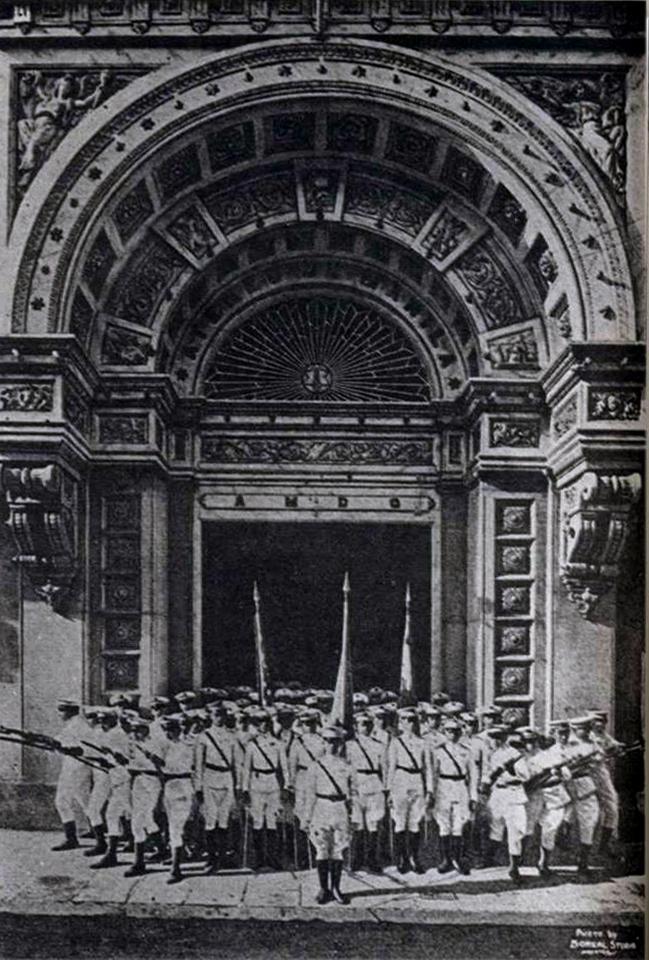 02 1899 Felix Roxas Sr. & Isabelo Tampinco -  San Ignacio Church of Intramuros