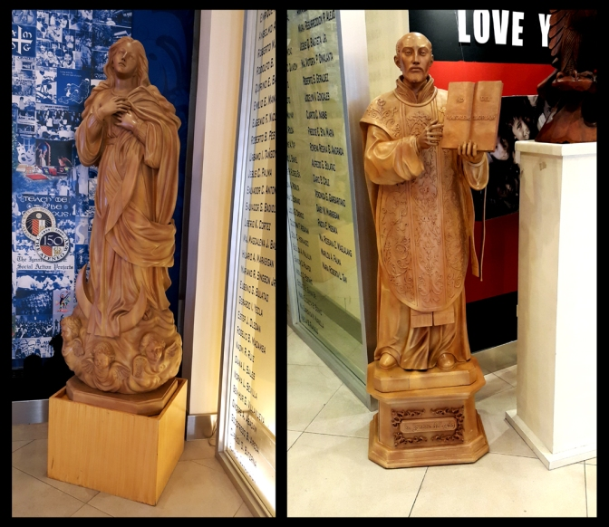 13 2007-09 Paete Sculptors - Immaculate Conception & St. Ignatius lt