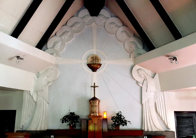 15 1954 Anastacio Caedo (possibly) - Chapel of the Holy Guardian Angels 4