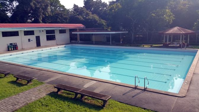 23 AGS Swimming Pool (Bana Sailani  1956 & 1960 Olympics, 1958 Asian Games)