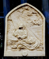Loyola House of Studies, Stations of the Cross II: The Garden of Gethsemane