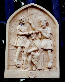 Loyola House of Studies, Stations of the Cross IV: Jesus is Crowned with Thorns