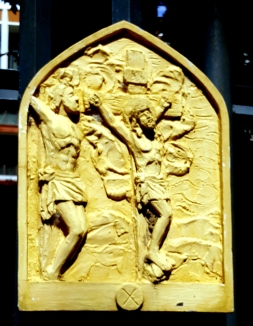 Loyola House of Studies, Stations of the Cross X: The Repentant Thief