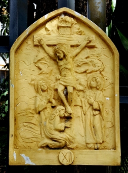 Loyola House of Studies, Stations of the Cross XII: Jesus dies on the Cross