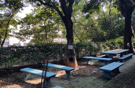 Tables behind the Grade 4