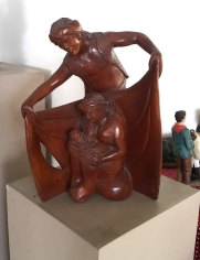 Unknown Artist - Igorot Family (Filipino Nativity)