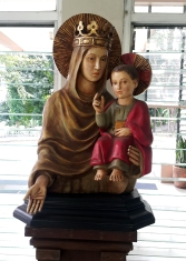 Unknown Artist - Mary the Queen and the Child Jesus