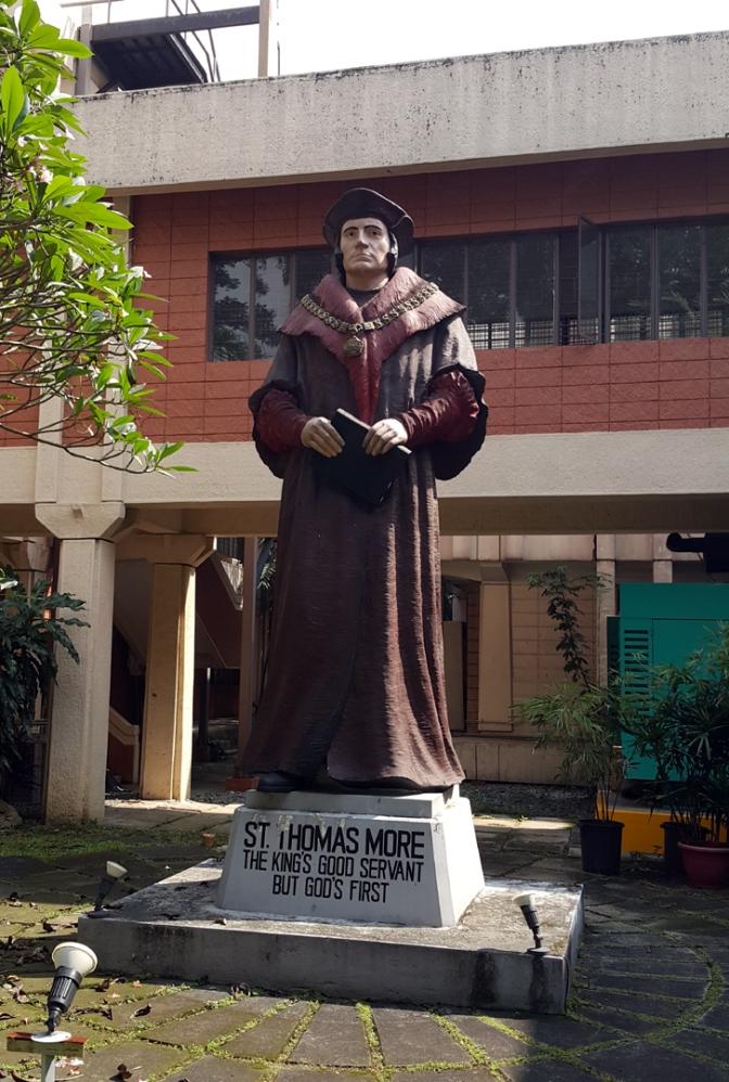 04 1960 Anastacio Tanchauco Caedo - Saint Thomas Moore (based on Hans Holbein)