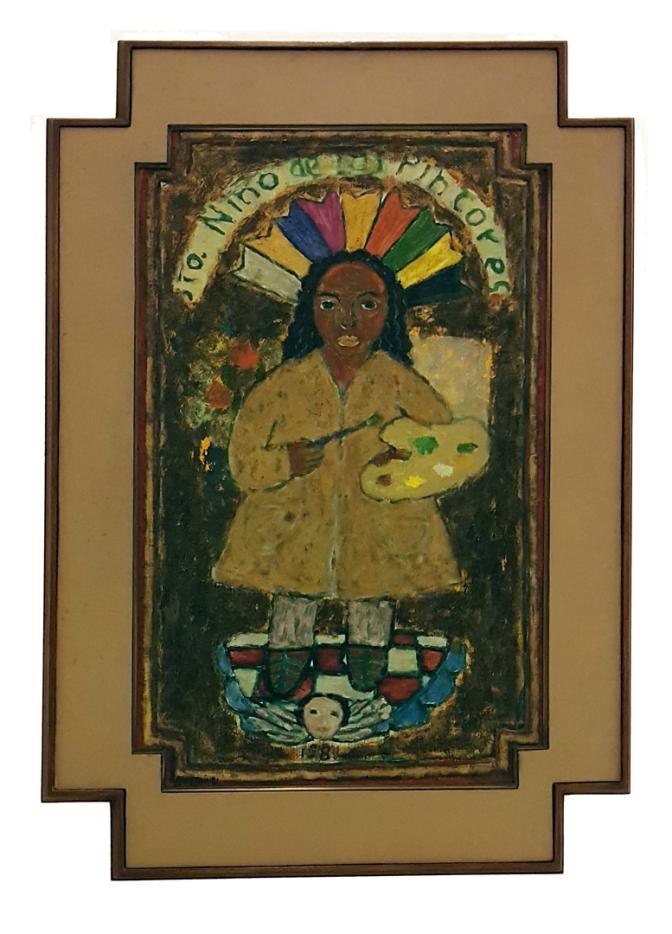 18 1981 Antonio Austria - Santo Niño de los Pintores 1 lt