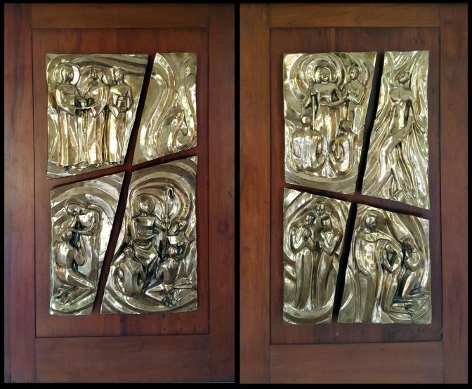 03 2008 Juan Sajid Imao - The Seven I Am's (Gospel of St. John), St. Stanislaus Kostka Chapel, Ateneo High School