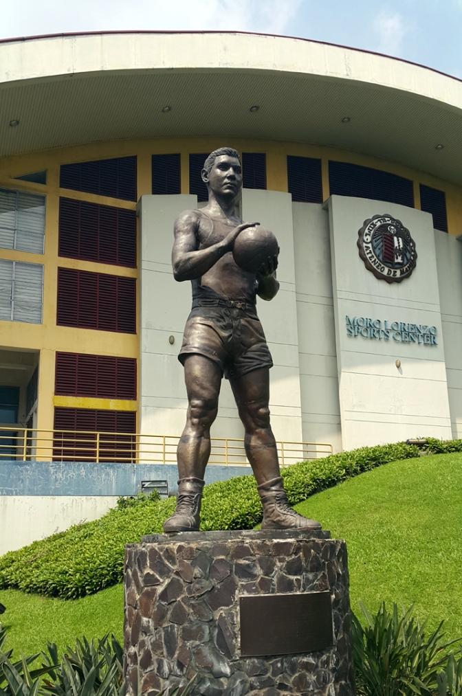 06 2001 Juan Sajid Imao - Luis Francisco 'Moro' Lorenzo (1928-97), Moro Lorenzo Sports Center