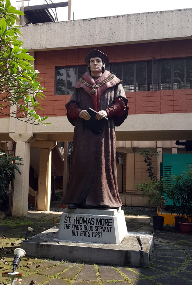 09 1960 Anastacio Tanchauco Caedo - Saint Thomas More (based on Hans Holbein)