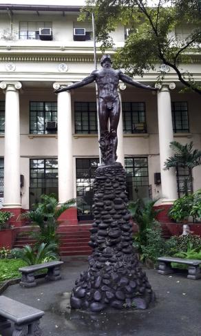 1950s Anastacio Caedo - UP Manila Oblation