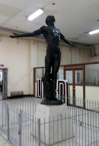 1939 Guillermo Tolentino - Oblation / Pahinungod, Gonzales Hall (Main Library)