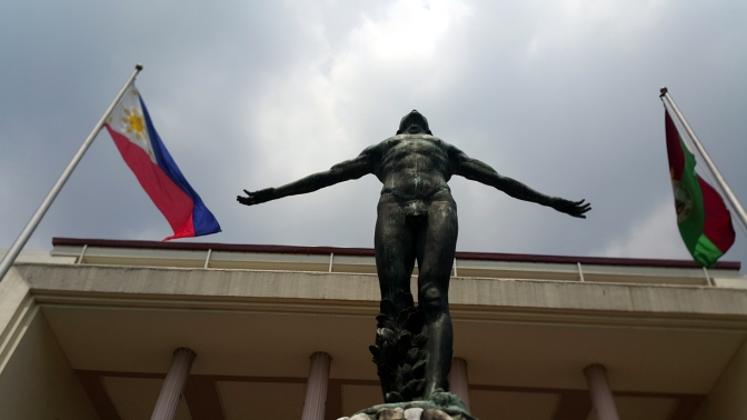1939 Guillermo Tolentino - Oblation, Pahinungod 5