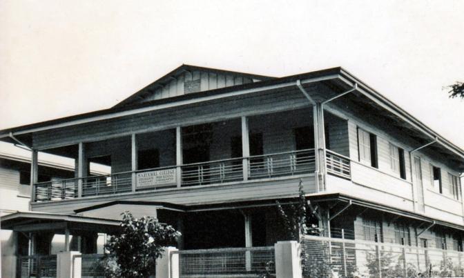 1940s Maryknoll College, Manila