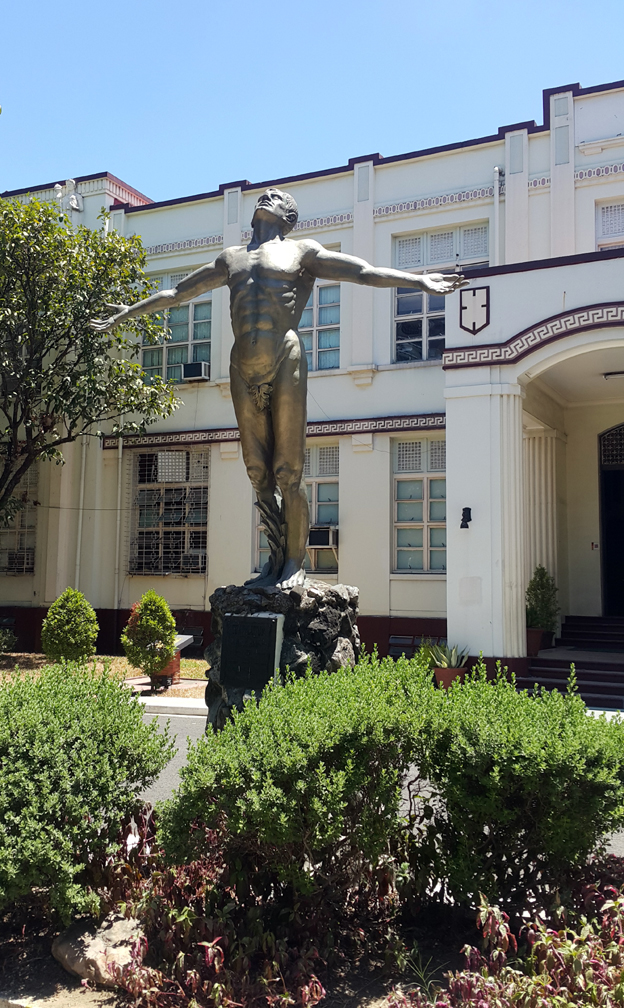 1957 Fidel Araneta - UP Cebu Oblation
