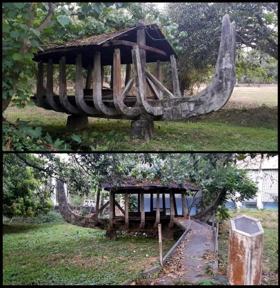 1984 Napoleon V. Abueva - The ASEAN Boat, UP Sculpture Garden