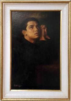 Felix Resurreccion Hidalgo - The Penitent