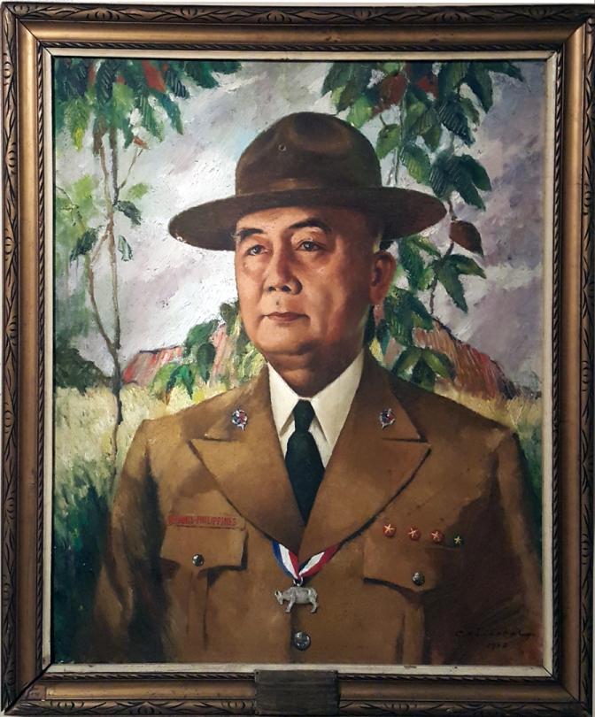 02A 1950 Bonifacio N. Cristobal (1911-1977) - BSP President Jorge B. Vargas