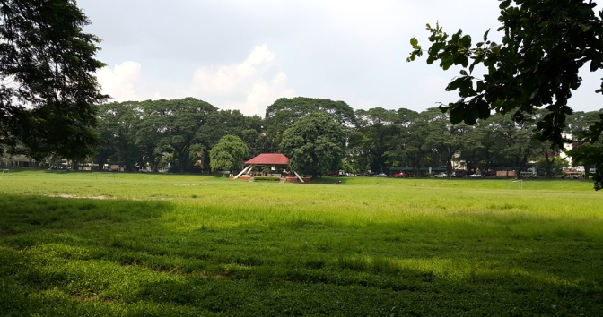09 1949 UP Sunken Garden, Gen. Antonio Luna Parade Grounds 1