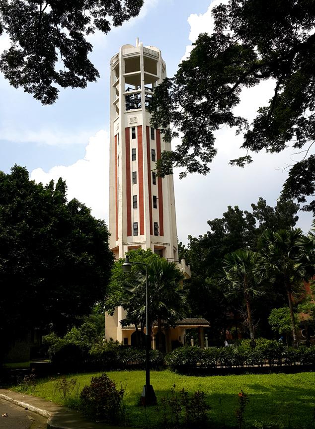 21 1940-52 Juan Nakpil - UP Carillon Tower, Bajo las Campañas 1