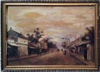 Santos Resurreccion Novicio - Street Scene in Hanoi (undated)