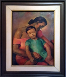Cesar Legaspi - Mother and Child