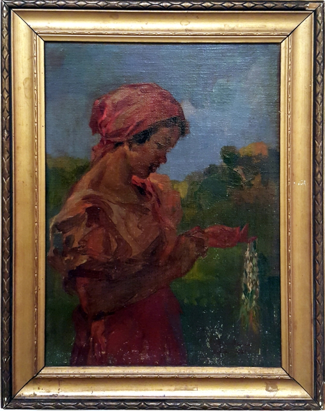 04 1931 Irineo Miranda - Sampaguita Vendor
