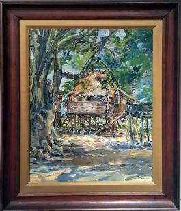 Diosdado Lorenzo - Nipa Hut
