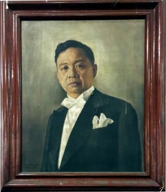 1962 Isaac Eustaquio - Carlos Peña Rómulo (1899-1985)