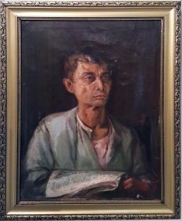 1925 Severino C. Fabie (1894-1950) - Man with a Newspaper