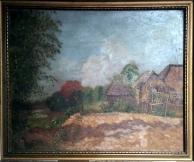 1931 Carmen Bernabe (graduated U.P. School of Fine Arts in 1932) - Country Side